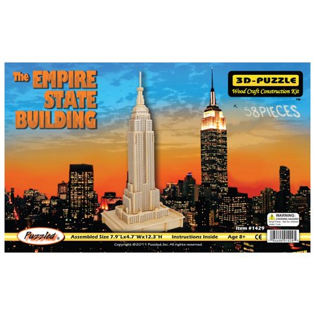 The Empire State Building Natural Wood Puzzle](State Puzzle)