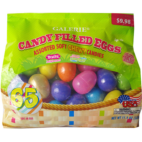 Candy Filled Eggs Easter Gift Set, 65 count, 11.5 oz