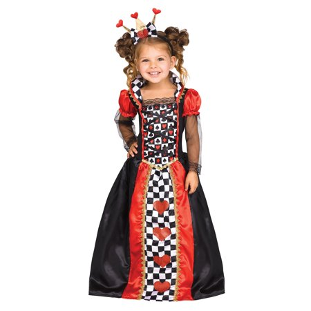 Queen of Hearts Girl Costume](Girls Queen Costume)