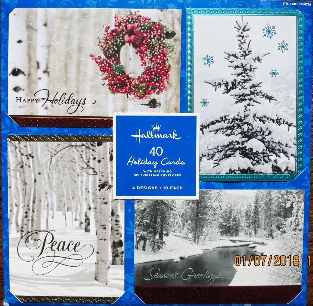 Personalised Christmas Season/'s Greetings Cards inc Envelopes B13