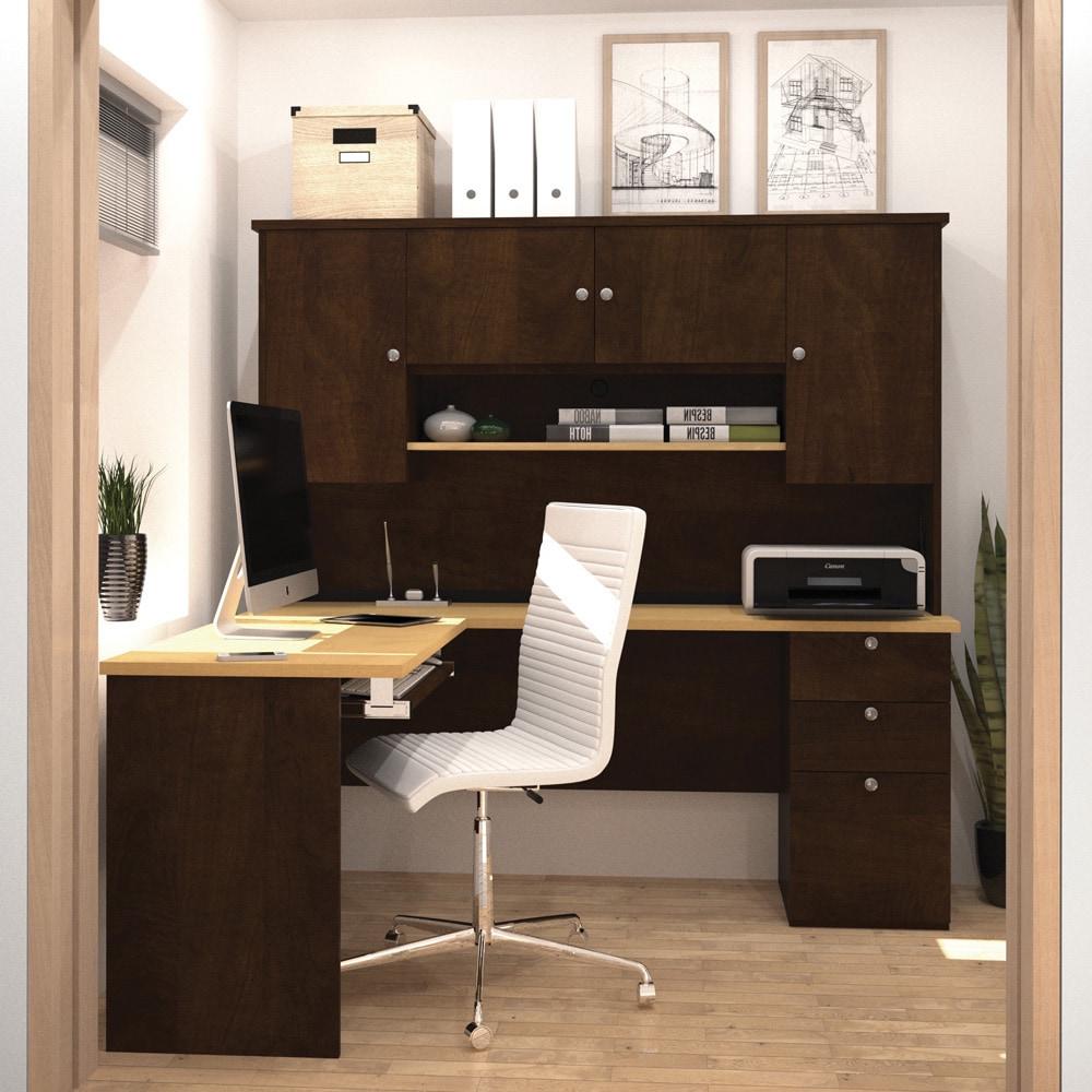 Bestar  Manhattan L-shaped Workstation Desk