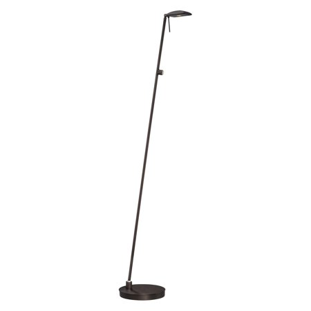 George Kovacs Task Portables 1-Light Pharmacy Floor Lamp - Copper Bronze Patina