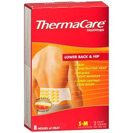 Thermacare Sm/Back/Hip Size 2ct