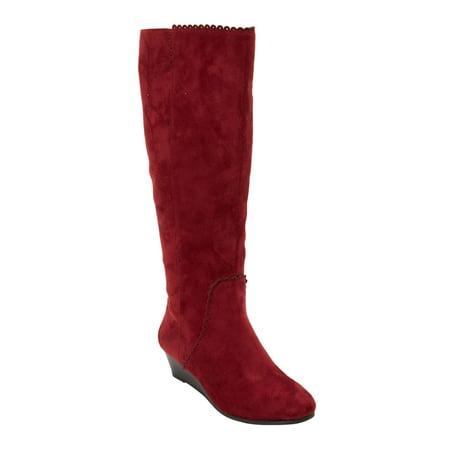 020f539e9f61 Roamans - The Destiny Wide Calf Boot By Comfortview - Walmart.com