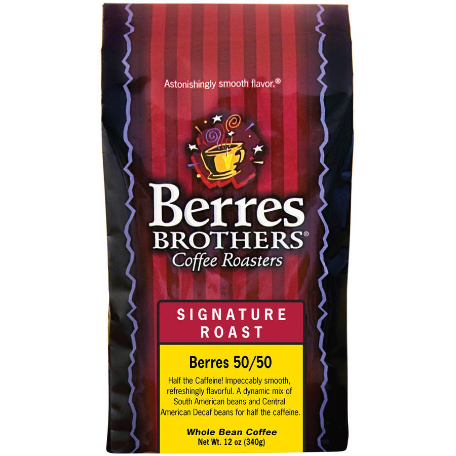 Berres Brothers Coffee Roasters Signature Roast Berres 50/50 Whole Bean Coffee, 12 oz