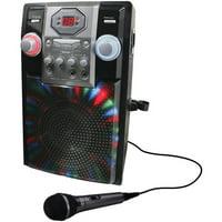 GPX JB185B Wireless Karaoke Party Machine