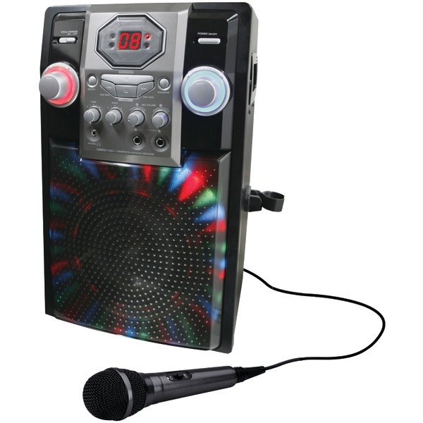 GPX JB185B Wireless Karaoke Party Machine