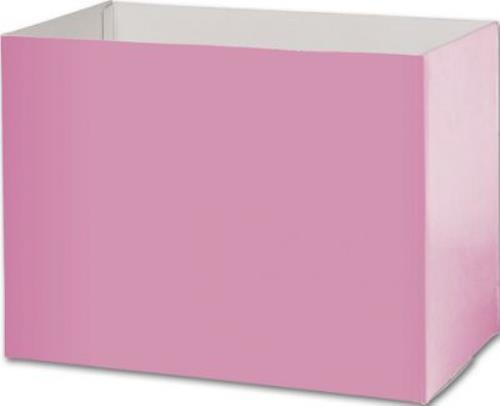 GBL-100607-22 Light Pink Gift Basket Boxes, 10 1 4 x 6 x 7 1 2 by