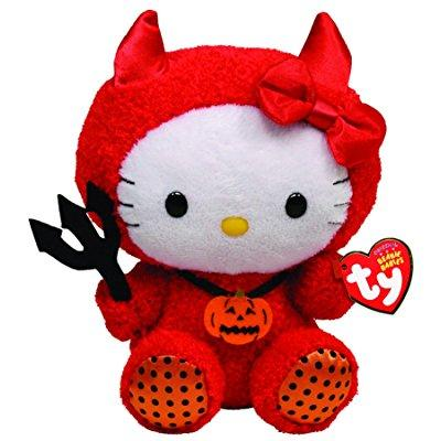 ty beanie baby hello kitty red devil
