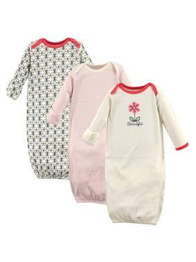 e27edbdf1afd White Baby Girls One-piece Pajamas - Walmart.com