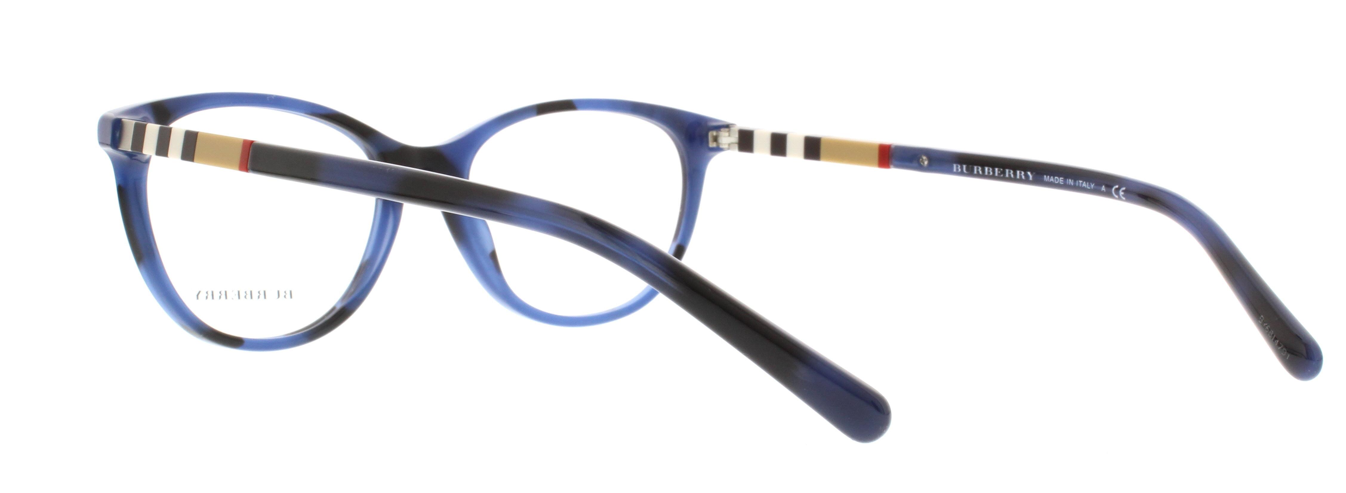 a42bd8b490d BURBERRY Eyeglasses BE 2205 3546 Spotted Blue 52MM - Walmart.com