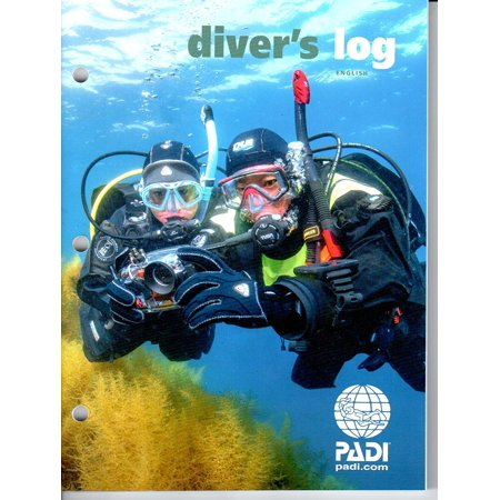 Diver's Log Book, Constructed of heavy duty glossy paper By (Padi Dive Log Binder)