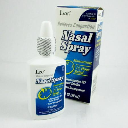 Moisturizing Nasal Decongestant Spray Oxymetazoline Allergy Sinus Stregth