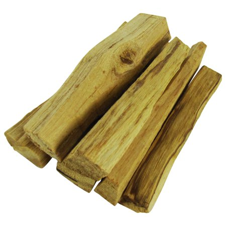 Peruvian Palo Santo Holy Wood Burnable Incense 6 Aromatic Sacred Smudging Sticks ()