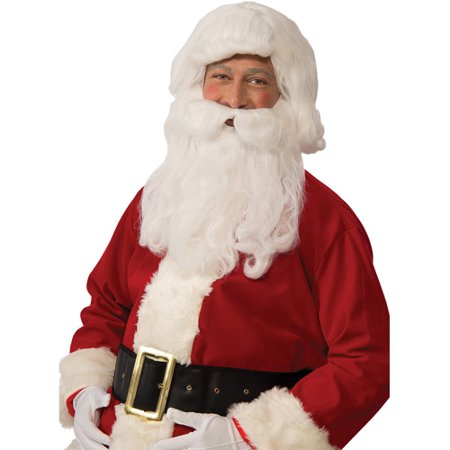 Economy Santa Wig/Beard Set Adult Christmas Accessory