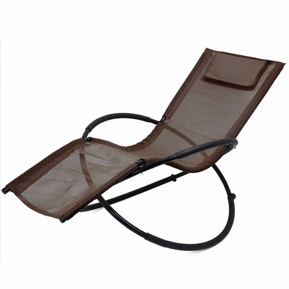 New MTN-G Folding Orbit Zero Gravity Chair Patio garden L...