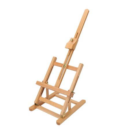HURRISE Adjustable Height 106cm Tabletop Wood Studio H-Frame Easel Artist Painting Tool, Adjustable Easel, Wood Easel - image 8 of 12
