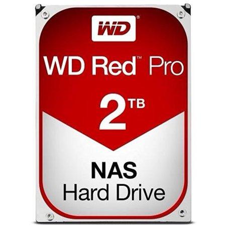 WD Red Pro 2TB NAS Hard Drive Bare Drive - 7200 RPM Class SATA 6.0Gb/s 64MB Cache 3.5u0022 - WD2002FFSX