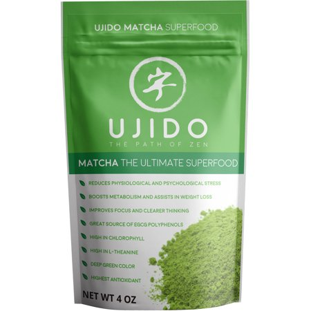 Powder Green Tea - Ujido Matcha Green Tea Powder, 4 Fl Oz, 1 Count