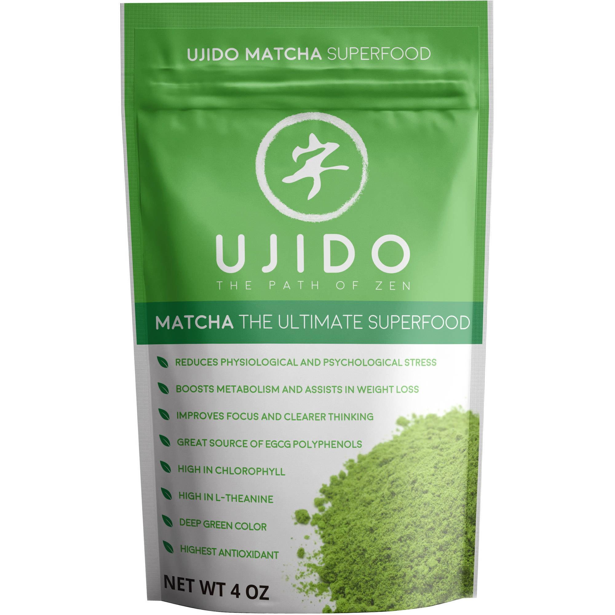 Ujido Matcha Green Tea Powder, 4 Fl Oz, 1 Count