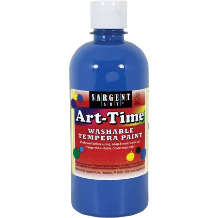 Sargent Art Blue Tempera Paint, 16 Oz. Blue 2 Oz Americana Paint