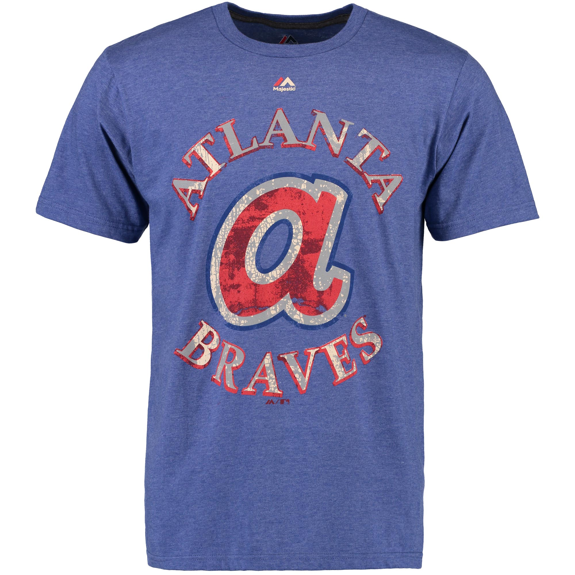 "Atlanta Braves Majestic MLB ""First Among Equals"" Cooperstown S/S Men's T-Shirt"