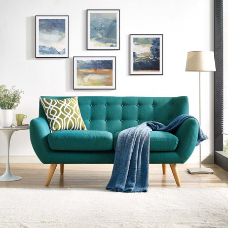- Modway Remark Upholstered Fabric Loveseat, Multiple Colors