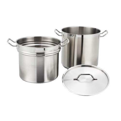 Winco Alu Double Boiler with Lid