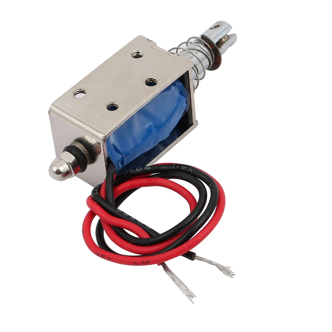Unique Bargains Dc6v 800ma 10mm 6n Push Pull Type Linear Dc Solenoid Ac Electromagnet Wiring Magnet