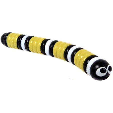 Slither Io Black  Yellow   White Slither Figure  No Package