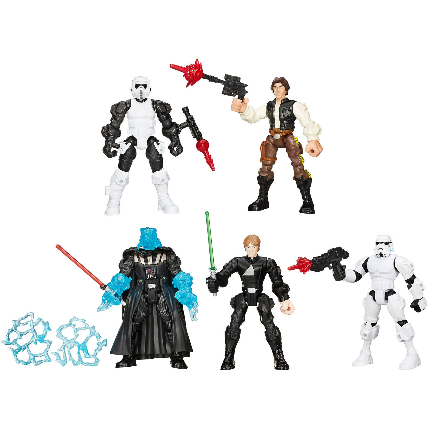 Star Wars Hero Mashers Return of the Jedi Multipack by Entertainment Earth Distribution