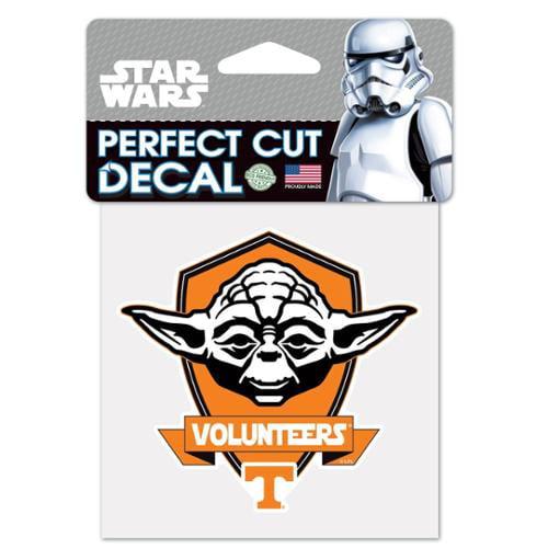 NCAA Star Wars Yoda Die Cut Car Decal Wincraft