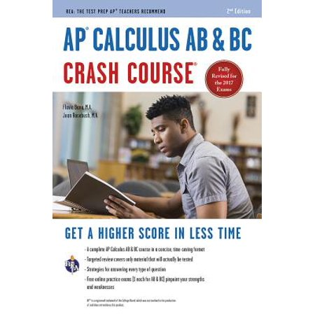 Ap(r) Calculus AB & BC Crash Course, 2nd Ed., Book +
