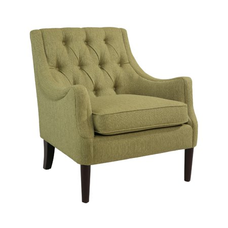 devon claire hillary lime green accent chair. Black Bedroom Furniture Sets. Home Design Ideas
