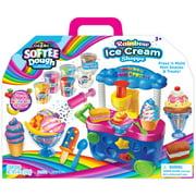 Cra-Z-Art Softee Dough Rainbow Ice Cream Cart, Assorted Colors, 16ct
