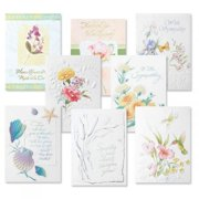 Deluxe Sympathy Cards Value Pack - Set of 16 (8 designs)