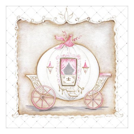 Oopsy Daisy Little Princess Carriage I Canvas Art