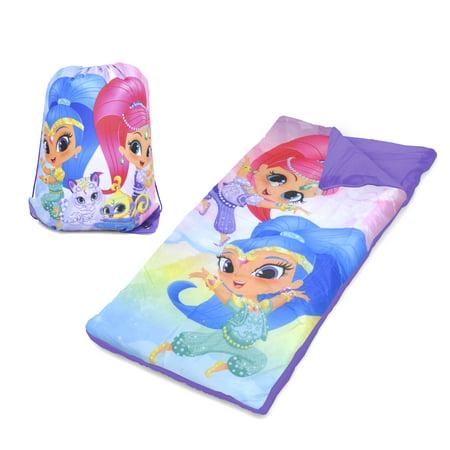 Shimmer and Shine Sleeping Bag - Toddler Sleeping Bag Personalized