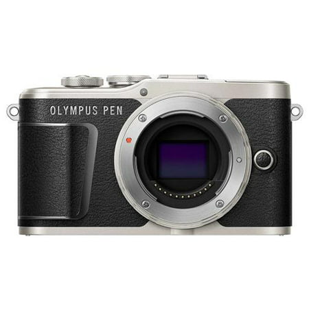 Olympus PEN E-PL9 16.1MP Mirrorless Camera Body, Onyx Black