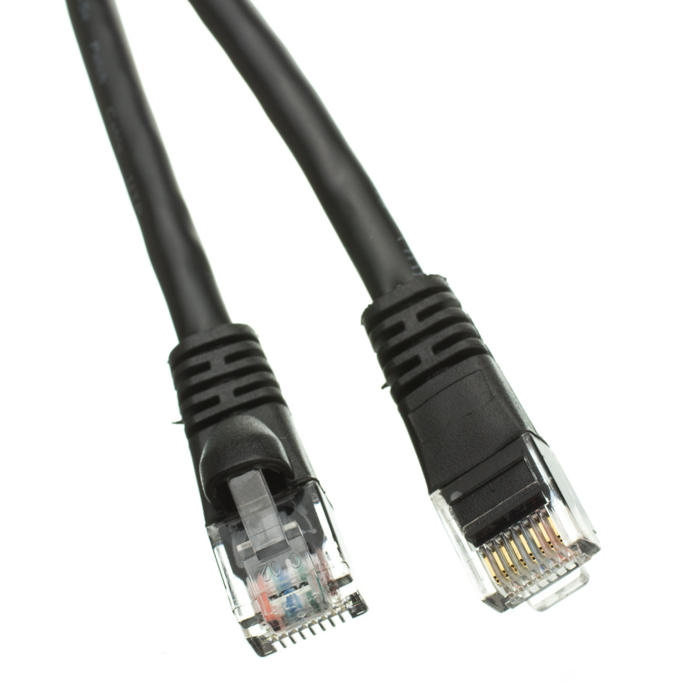 eDragon CAT5E Gray Hi-Speed LAN Ethernet Patch Cable 30 Feet Pack of 3 Snagless//Molded Boot