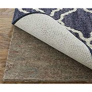 Dual Surface Felt and Latex Non Slip Rug Pad, 6'x9', 1/4 Inch Thick, Safe for Hardwood Floors and All Surfaces