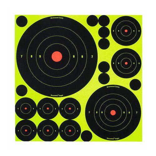 Birchwood Casey 1'', 2'', 3'', 6'' and 8'' Assortment Shoot NC Practice Target