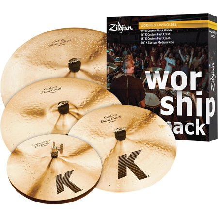 K Custom Series Cymbal Set Worship