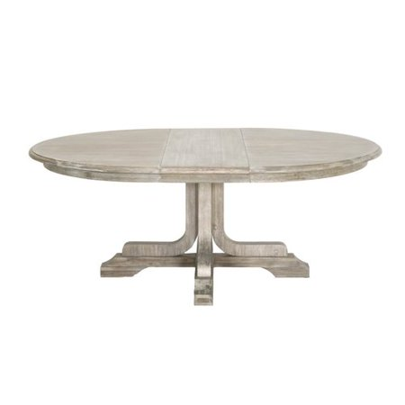 One Allium Way Quist Round Extension Dining Table
