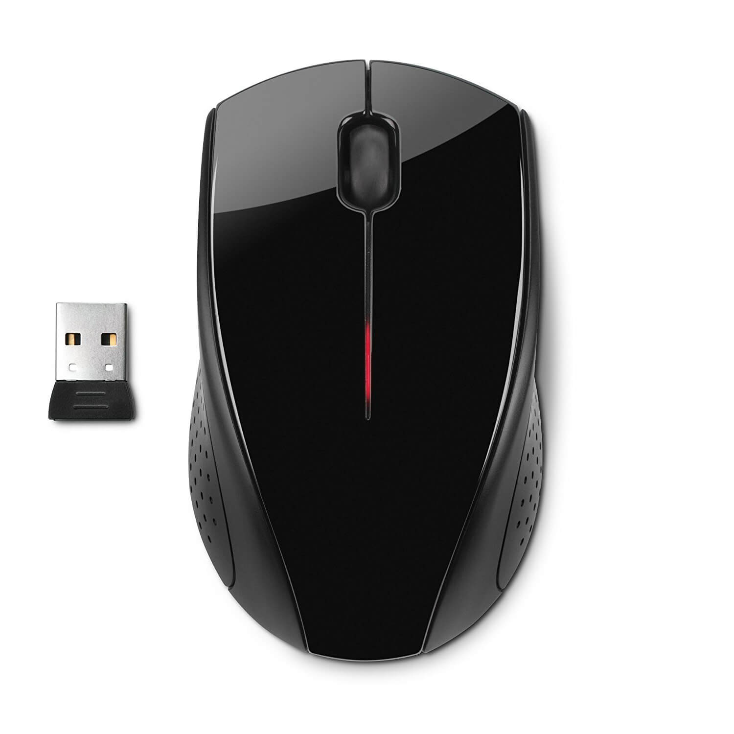 HP X3000 2.4GHz Wireless 3-Button Optical Scroll Mouse w ...