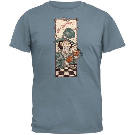 Mad Hatter Shirts (Mad Hatter - Lt Blue T-Shirt)
