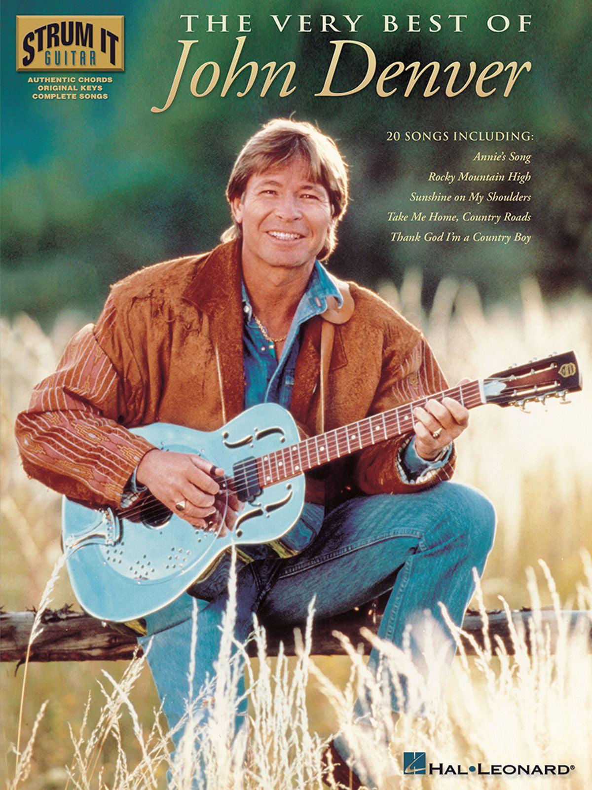 Canvas John Denver Sings at Farm Aid Art Print Poster
