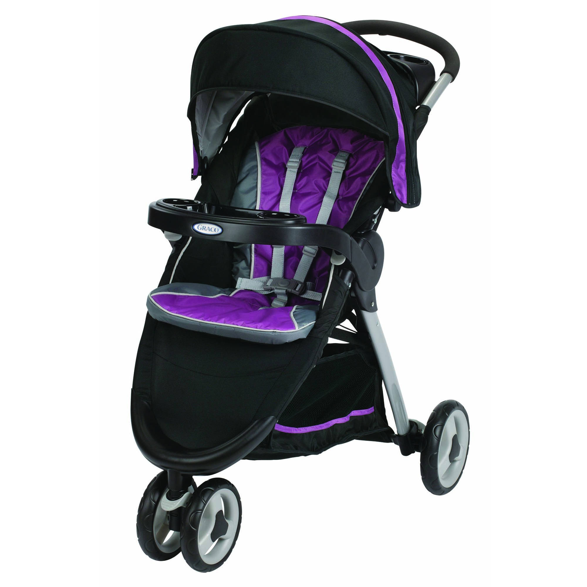 Graco FastAction Fold Sport Click Connect Baby Stroller, Nyssa