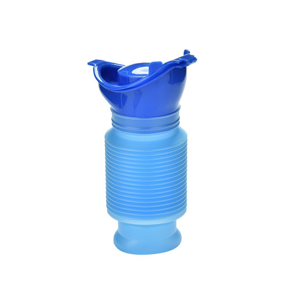 Baby Emergency Toilet 3 Character Reusable Shrinkable Pee Bottle for Baby and Kids Children