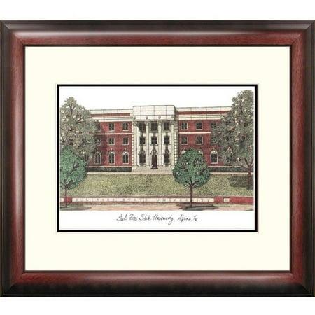 Sul Ross State University Alumnus Framed Lithograph